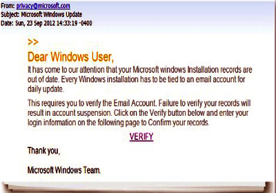 yahoo mail scam email